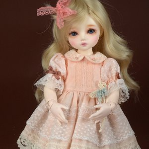 [USD] Dear Doll Size - UD-86 Dress Set (Pink)
