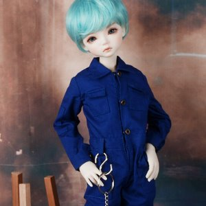 [MSD] Mila Coverall (Blue)