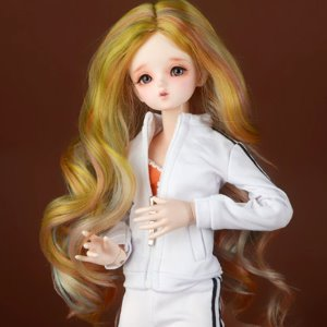 "[7-8""] Arcane Long Wig (Yellow)"