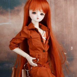 [MSD] Mila Coverall (Orange)