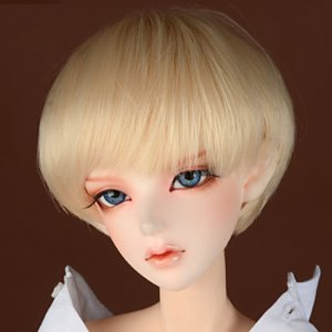"[8-9""] Effic Short Wig (Blonde)"