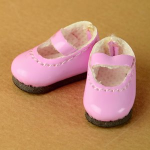 "[25mm] 12"" Basic Girl Shoes (Pink)"