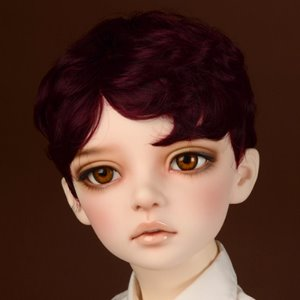 "[13-14""] Zeke Short Cut Wig (Wine)"