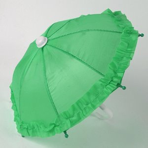 MSD & USD - Mugh Frill Umbrella (L Green) 우산