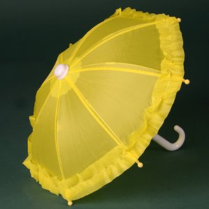 MSD & USD - Mugh Frill Umbrella (Yellow) 우산