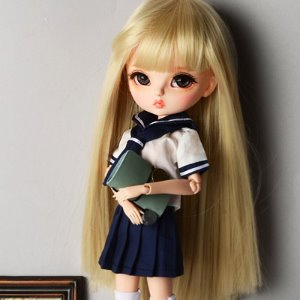 "12"" Size - My School Girl Set (Navy)"