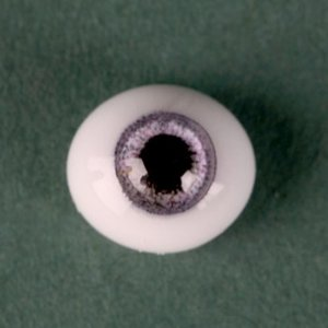 [6mm] Classic Flat Back Oval Glass Eyes (CC07)