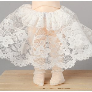 [Bebe Doll.휴쥬베이비] Bebe Doll Size - Lala Lace Underskirt (White/ 속치마 )