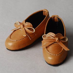 [63mm] Grace Doll Size -Ribbon Loafer (Brown)