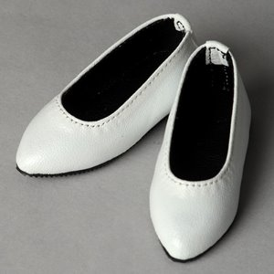 [63mm] Grace Doll Size - Julia Shoes (White)