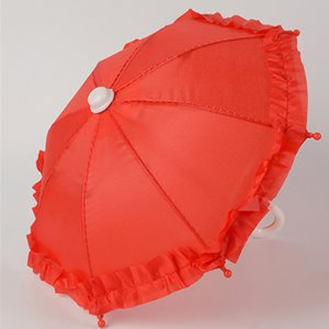 MSD & USD - Mugh Frill Umbrella (Red) 우산