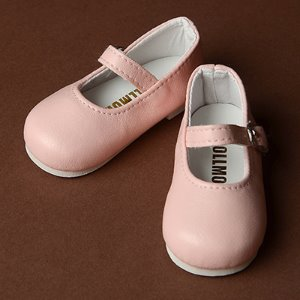 [70mm] MSD - Macaron Mary Jane Shoes (Pink)