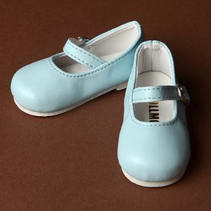 [70mm] MSD - Macaron Mary Jane Shoes (Mint)
