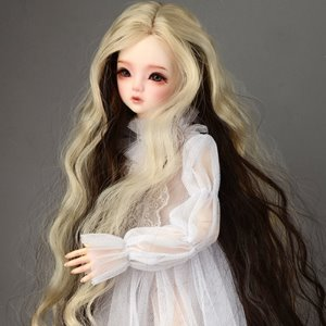 "[7-8""] Dyeing Long Wig (L Blonde)"
