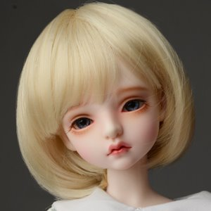 "[7-8""] Pageboy Cut Wig (Blonde)"