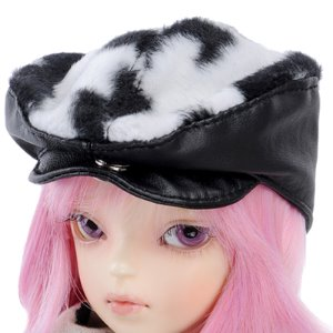 MSD - Hair Beret (Black Cow)