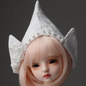 (7-8) Aroa Hat (White)