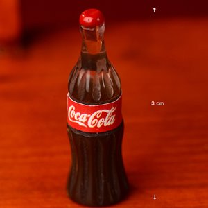Mini Cola Bottle (Red/ 콜라 )