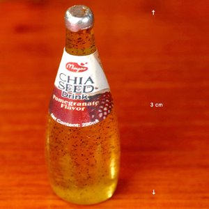 Mini Chia Seed juice Bottle (Pomegreanate/ 쥬스 )