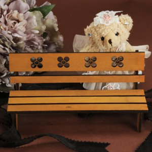 USD Size - Povoda Wood Bench (Brown)