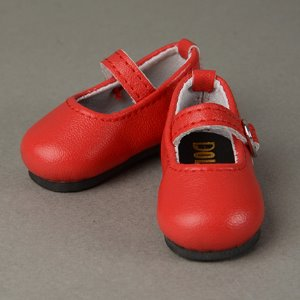 [40mm] USD.Dear Doll Size - Macaron Mary Jane Shoes (Red)