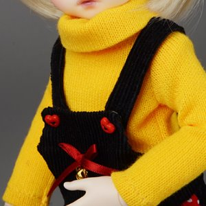 [USD] Dear Doll Size - HAM Turtleneck Knitwear (Yellow)
