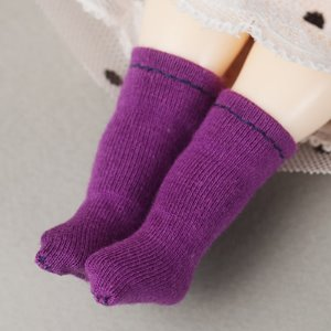 [Bebe Doll.휴쥬베이비] Bebe Doll Size - AWC Socks (Purple)