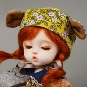(5) AniF Hat (Yellow)