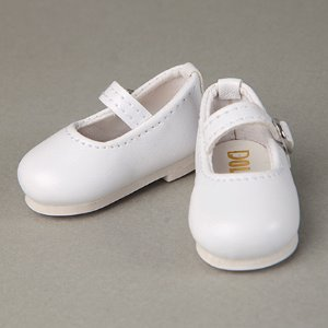 [40mm] USD.Dear Doll Size - Macaron Mary Jane Shoes (White)