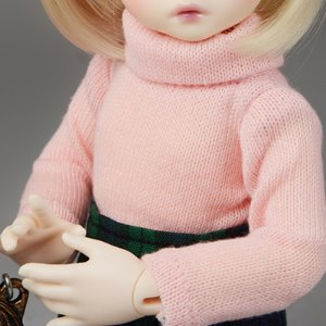 [USD] Dear Doll Size - HAM Turtleneck Knitwear (Pink)