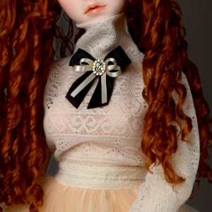 [Trinity Doll Size] Madelyn Blouse (Ivory)