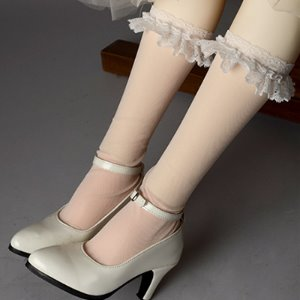 [Trinity Doll Size] Madelyn Lace Stockings (Ivory)