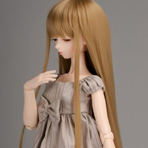 "[8-9""] PNY Bangs Straight Wig (R.Brown)"