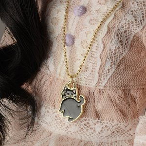 SD & MSD - Gungdi Cat Necklace (Black)