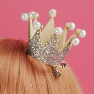 Yurijuri Pearl Crown Pin (Silver)