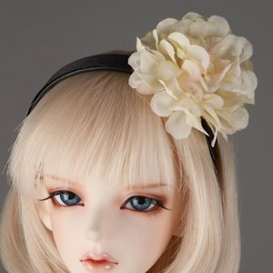 MSD & SD - MD Flower Headband (Ivory 481)