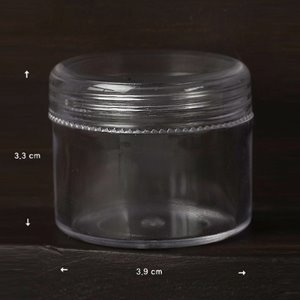 Clear Accessory Case (비즈통/Milddle)