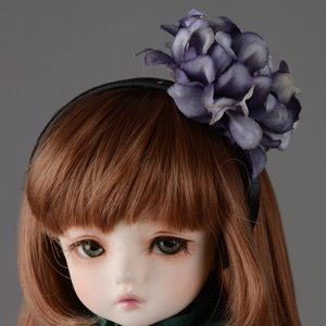 MSD & SD - MD Flower Headband (Violet 478)