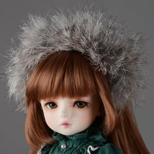 MSD & SD - RB Fur Headband (477)