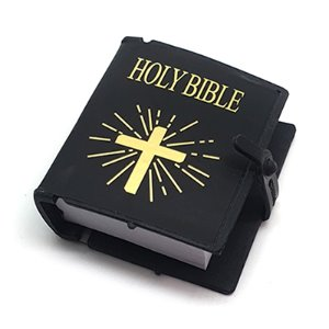 Mini Hard Bible (Black)