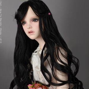 "[13-14""] Erica Long bang Wig (Black)"