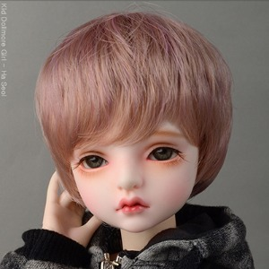 "[7-8""] Kam Short Cut Wig (D Pink)"