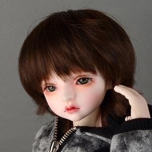 "[7-8""] Tam Short Cut Wig (D Brown)"