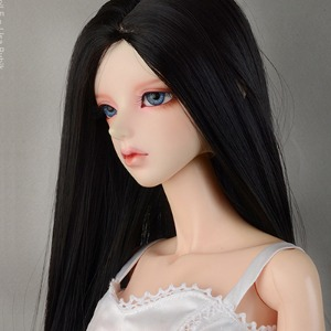 "[8-9""] Neo Risca Long Straight Wig (Black)"