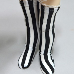 [USD] Dear Doll Size - KeKe Band Stocking (Stra White)