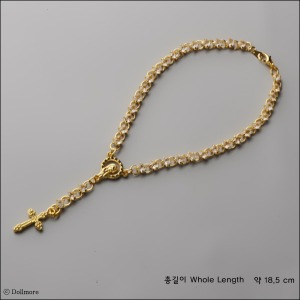 MSD & SD Size - Redemption Rosario Necklace (GG/White)