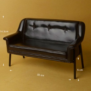 (선주문) 1/6 Scale USD Size Double Modern Chair (Black)