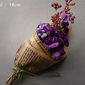 Large Flower Bouquet (Violet)