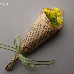 Small Shepherd Purse Flower Bouquet (Yellow)