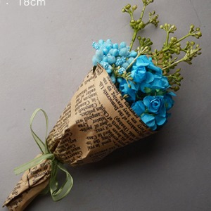 Large Flower Bouquet (Blue)